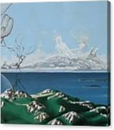 Feminine Landscape Canvas Print