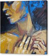Feminine - Portrait Of A Woman Canvas Print