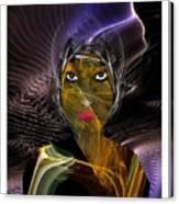 Femme Du Centaure Canvas Print