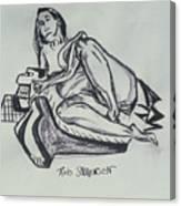 Femme En Misere Canvas Print