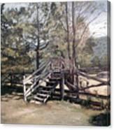 Fence Stile Canvas Print