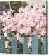 Fenced Mosaic Canvas Print