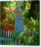 Fencepost Canvas Print