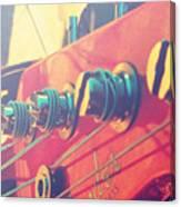 Fender Bass Guitar Canvas Print