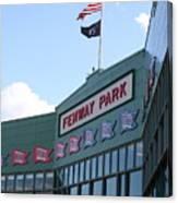 Fenway Park Centennial Canvas Print