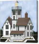 Fermin Model Landscaped Canvas Print