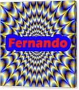 Fernando Canvas Print