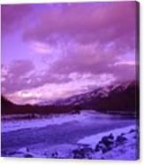 Fernie British Columbia  Canvas Print