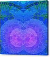 Ferns 2j Hotwax 3 Mirror Canvas Print