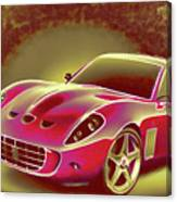 Ferrari 13 Canvas Print
