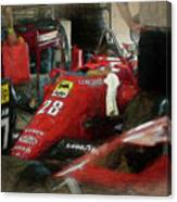 Ferrari 156/85 Canvas Print