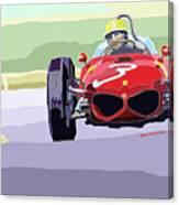 Ferrari 156 Dino 1962 Dutch Gp Canvas Print