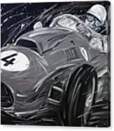 Ferrari 1958 Hawthrorn Canvas Print