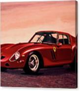 Ferrari 250 Gto 1962 Painting Canvas Print
