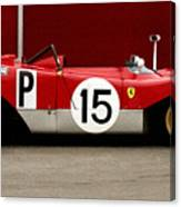 Ferrari 312 Profile 1971 Canvas Print