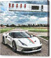 Ferrari 458 Canvas Print