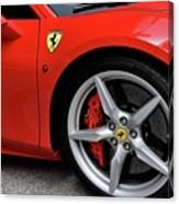 Ferrari 488gtb Canvas Print