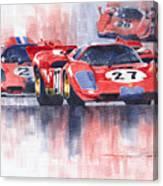 Ferrari 512 S 1970 24 Hours Of Daytona Canvas Print
