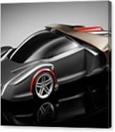 Ferrari Concept Black Canvas Print
