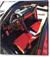 Ferrari Enzo Interior Canvas Print