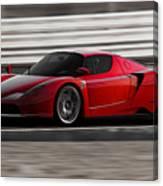 Ferrari Enzo - Rosso Corsa Canvas Print