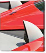 Ferrari Exhaust Pipes Canvas Print