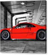 Ferrari F40 Canvas Print