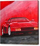 Ferrari Testarrossa Canvas Print