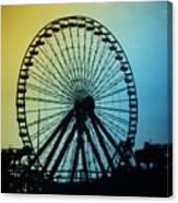 Ferris Wheel - Wildwood New Jersey Canvas Print