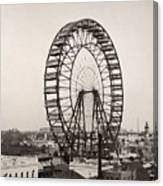 Ferris Wheel, 1893 Canvas Print