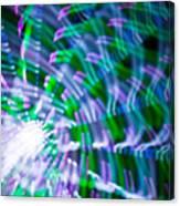 Ferris Wheel Abstract Xv Canvas Print