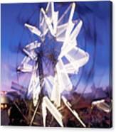 Ferris Wheel At Dusk-2 Canvas Print