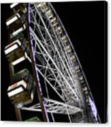 Ferris Wheel At Night 16x20 Canvas Print