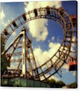 Ferris Wheel At The Prater Canvas Print