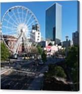 Ferris Wheel Atl Canvas Print