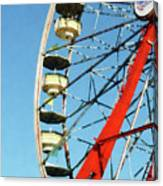 Ferris Wheel Closeup Canvas Print