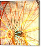 Ferris Wheel Jazz Canvas Print
