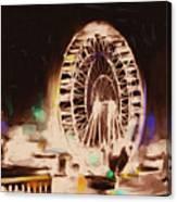Ferris Wheels Tower 536 2 Canvas Print
