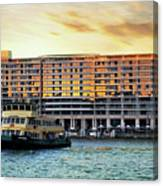 Ferry And The Toaster Canvas Print
