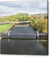 Ferry Bridge Burton On Trent Canvas Print