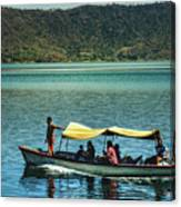 Ferry - Lago De Coatepeque - El Salvador I Canvas Print