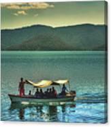 Ferry - Lago De Coatepeque - El Salvador Canvas Print