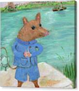 Ferry Mouse Canvas Print