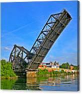Ferry St Draw Bridge Canvas Print