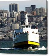 Ferryboat On The Bay Canvas Print