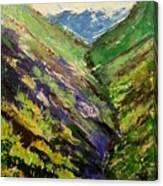 Fertile Valley Canvas Print