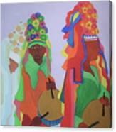 Festa Do Rosario Canvas Print