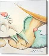 Festive Horn Canvas Print