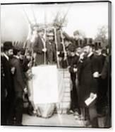 Festive Start Of Balloon 1906 Canvas Print