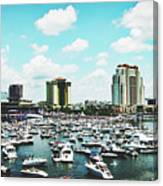 Festive Tampa Bay Canvas Print